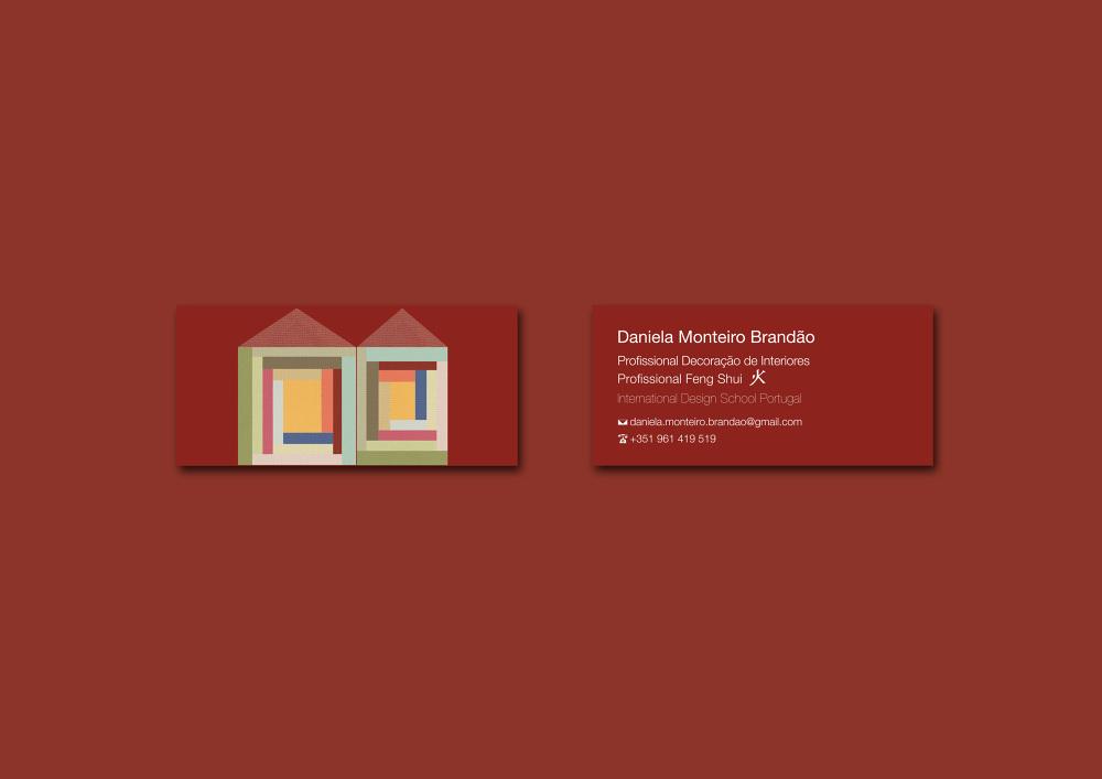 Interior Design Business Card - dua2por3